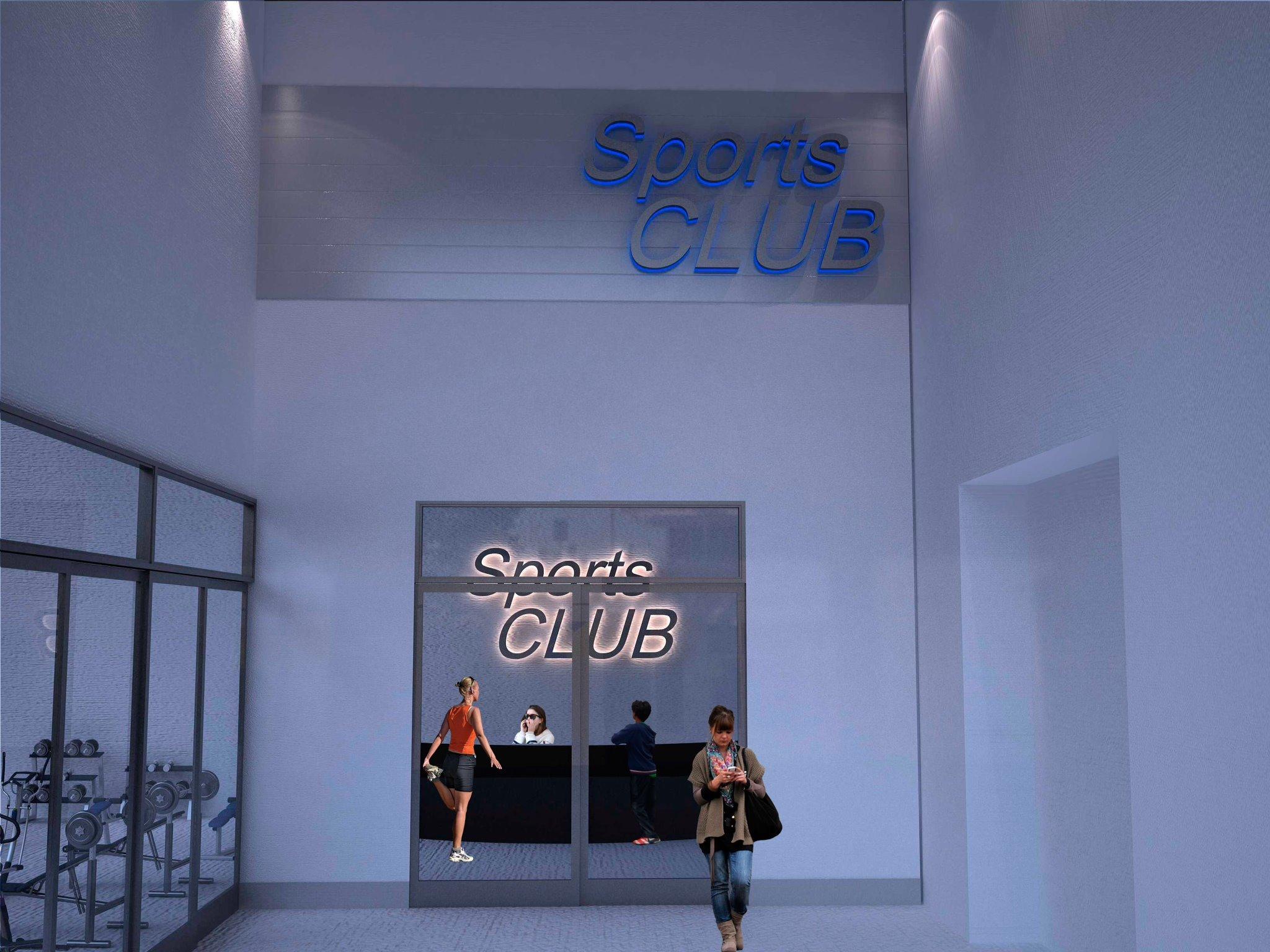 Diseño y construcción corporativa Sport Club