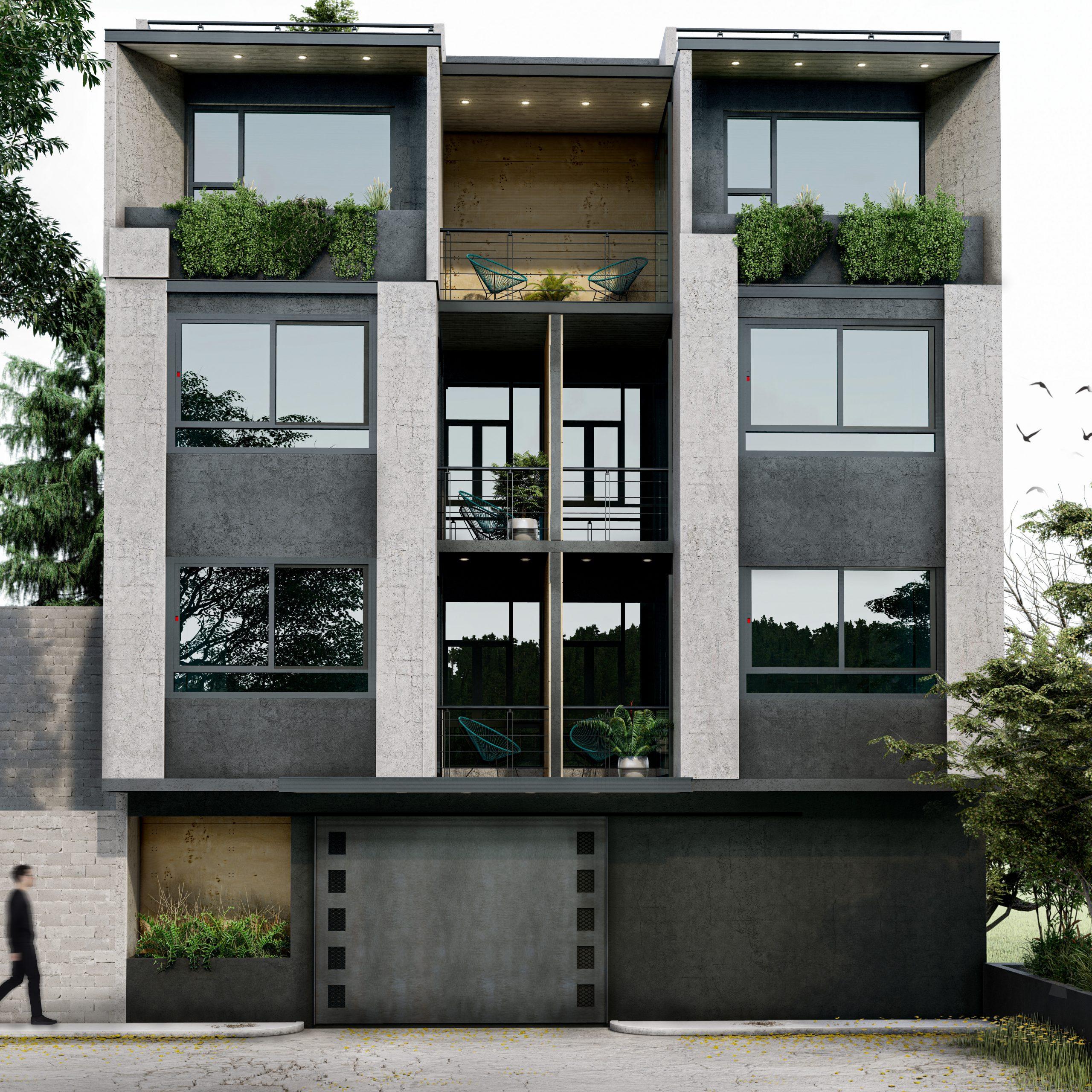 Proyecto arquitectónico edificio Campos Elíseos 53